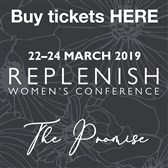 Replenish 2019*ON SALE NOW*Click For More Info & To Book Your Place
